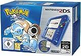 Video Games - Nintendo 2DS - Konsole (Blau Transparent) inkl. Pok�mon Blaue Edition