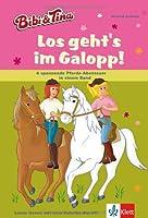 Bibi und Tina - Los geht's im Galopp!: 4 spannende Pferde-Abenteuer in einem Band. Leseanfänger ab 6 Jahren von Klett Lerntraining