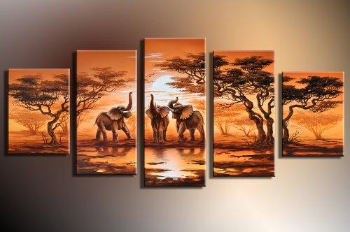 Barato elefantes m2 5 imagen cuadros en for Cuadros decorativos baratos precio