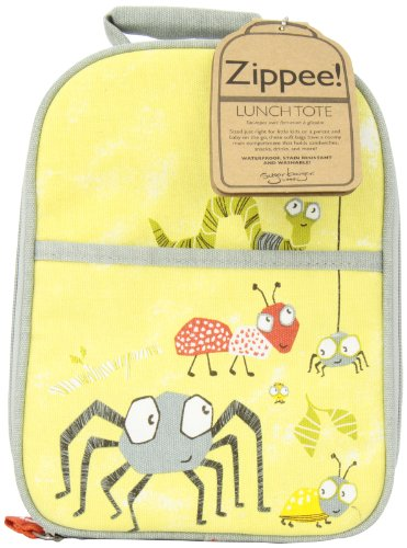 SugarBooger Zippee Lunch Tote, Icky Bugs