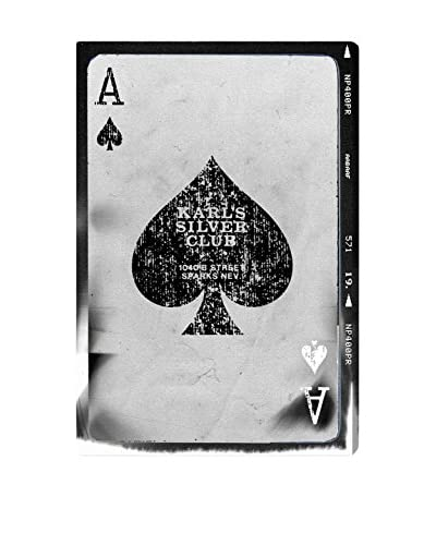 Oliver Gal Hatcher & Ethan 'Ace of Spades Reversed' Canvas Art