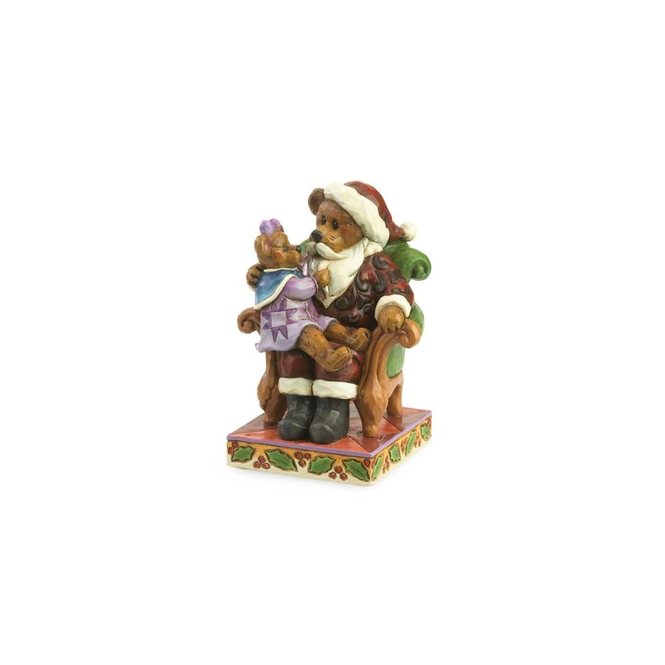 Boyds Jim Shore Santa with HollyChristmas Wishes Figurine