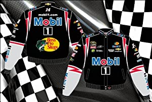 Tony Stewart Mobil 1 Mens Twill 2013 Nascar Jacket by RacingGifts