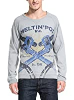 MELTIN'POT Sudadera Fineo 001 (Gris)