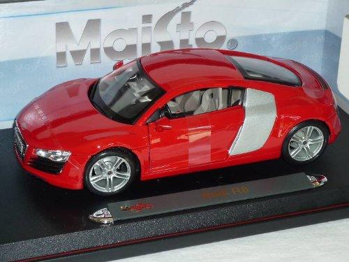 Audi R8 R 8 Coupe Rot 1/18 Maisto Modellauto Modell Auto