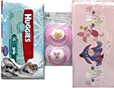 Eeyore, Piglet Pooh and Tiger Pacifiers and baby Wipes Super Pack