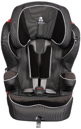 Renolux 9-36Kg Car Seatquick Confort  Group 1/2/3 (Black Knight, 9 Months - 12 Years)