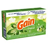 Gain With Freshlock Original Dryer Sheets 80 Count (Pack of 3)