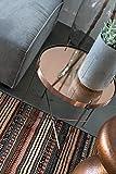 Zuiver-2300038-Cupid-Beistelltisch-Glas-43-x-43-x-45-cm-kupfer
