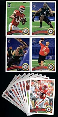 2011 Topps Kansas City Chiefs Football Cards Team Set-14 cards-Bailey RC,Stanzi RC