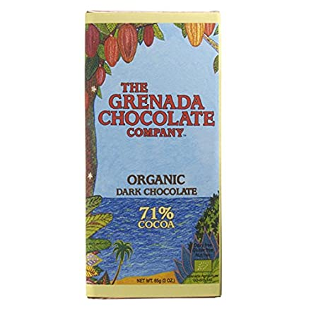 Grenada Chocolate Company 71% Organic Dark Chocolate