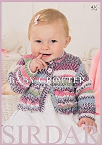 Sirdar Knitting Pattern Books Baby : Amazon.com: Sirdar Knitting Pattern Book 436 - Baby ...