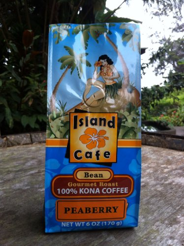 Island Cafe 100% Kona Peaberry Whole Bean