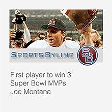 Super Bowl Heroes: Joe Montana Radio/TV Program by Ron Barr Narrated by Ron Barr, Joe Montana