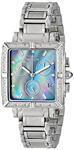 Invicta Women's 0609 Wildflower Collection Diamond Chronograph Watch