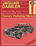 J. H. Haynes Jaguar XJ6 and XJ Sovereign/Daimler Sovereign 1968-86 Series 1, 2 and 3 Owner's Workshop Manual (Service & repair manuals)