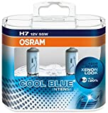 Osram 64210CBI-HCB COOL BLUE INTENSE H7 Halogen, Scheinwerferlampe, 12V, Duo Box, 2 Stück, Anzahl 2
