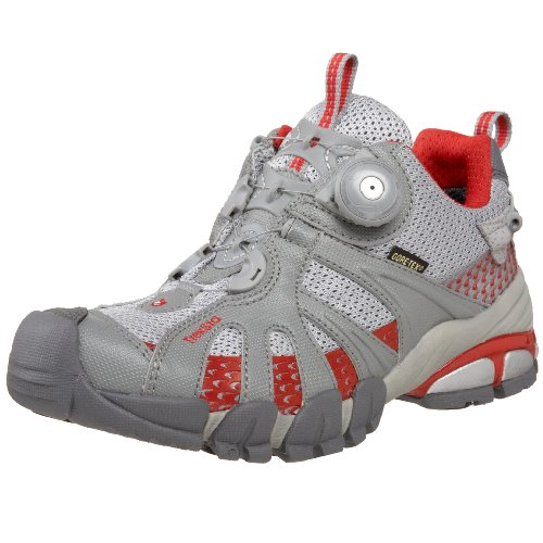 Treksta Women's Kobra Trail Running Shoe,Grey/Red,5.5 M US