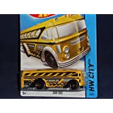 2014 Hot Wheels Hw City 3/250 Surf Bus (School Bus)