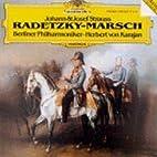 RADETZKY MARSCH ETC/ KARAJAN by JOHANN…