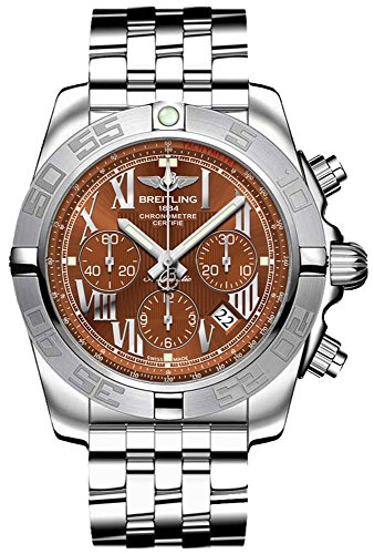 Breitling   Watch  Display and steel Strap AB011011.Q566.375A