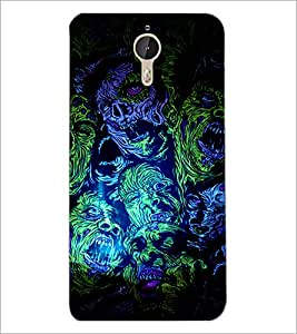 PrintDhaba Abstract Design D-3236 Back Case Cover for LETV LE 1 PRO ULTRA (Multi-Coloured)