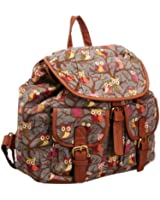 SwankySwans Girl's Barrita Owl Backpack