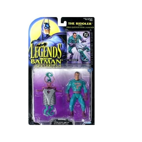Batman: Legends of Batman Riddler Action Figure