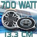 Lautsprecher 700 Watt (RMS: 70 Watt) 2-Wege d=13,3 cm X-Flame - NEU & OVP - von Shark - Reifen Onlineshop