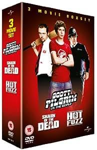 Scott Pilgrim vs. The World/Hot Fuzz/Shaun of the Dead Box Set  [DVD]