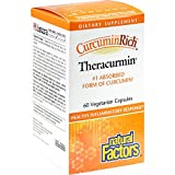 Natural Factors Curcumin Rich Turmeric Root (300mg, 60 Vegetarian Capsules)