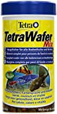 Tetra 128996 TetraWafer Mix, Hauptfutter in Waferform für alle Bodenfische und Krebse, 250 ml