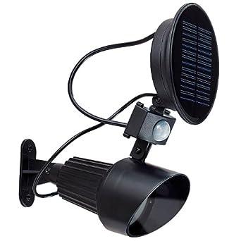 Ranex 2x Gartenstrahler mit Erdspieß Solar Leuchte Gartenleuchte Außenleuchte