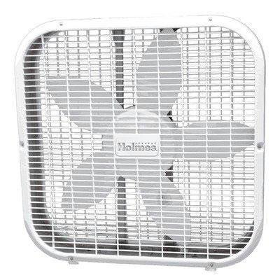 Jarden HBF2010A-WM Holmes 20 Metal Box Fan White