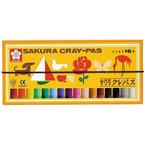 Sakura Cray-Pas 16 colors