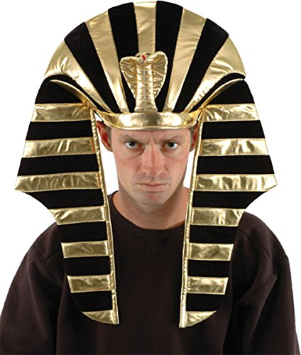 Morris Costumes Men's HAT KING TUT SHINY