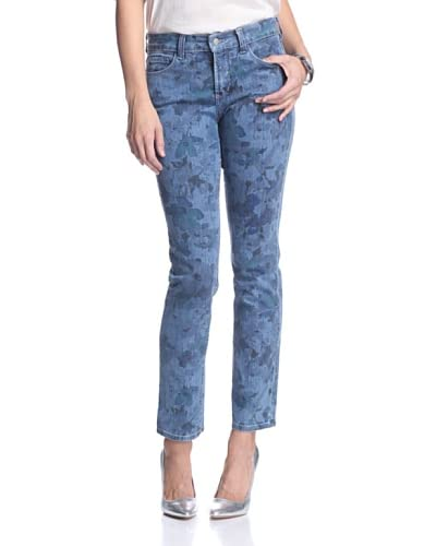 NYDJ Women's Sheri Printed Skinny Jeans