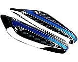 【 BMW M3風 : LED サイド マーカー 2個 セット 】  スポーツ VIP カー 汎用 12V ウィンカー ダミーダクト  【 高級感 漂う デザイン 】