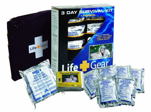 Life+Gear LG329 Life Essentials 3-Day Surviva...