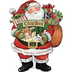 EK Success K and Company Susan Winget Glad Tidings Toys and Presents ChipBox