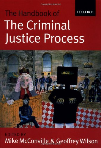 The Handbook of the Criminal Justice Process