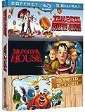 Tempête de boulettes géantes + Monster House + Les rebelles de la forêt [Blu-ray]