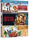 Image de Tempête de boulettes géantes + Monster House + Les rebelles de la forêt [Blu-ray]