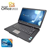 【Microsoft Office 2010搭載】【Win 7搭載】NEC VY22G/X-A/新世代Core i3 2.26GHz/メモリ2GB/HDD160GB/大画面15.6インチ/無線LAN搭載/中古ノートパソコン
