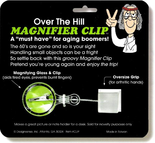 Design Sense Over The Hill Magnifier Clip