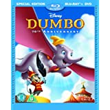Dumbo Special Edition Combi Pack (Blu-ray + DVD)by James Baskett