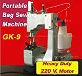 Manual Bag Closer Sealer Sewing Stiching Portable Machine 220 VOLTS Heavy Duty Motor SHIPPED FROM USA