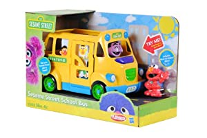 Playskool Sesame Street School Bus