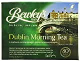 Bewley's Dublin Morning Tea.<br>1840. Dublin, Ireland.<br>A traditional morning tea with a strong and refreshing flavour.<br>Bewley's tea has been an Irish tradition for generations. Master Blenders since 1840, we select only the finest teas from around the world. Our traditions and commitment to excellence have stood the test of time, something we are very proud of.<br>80 premium teabags.