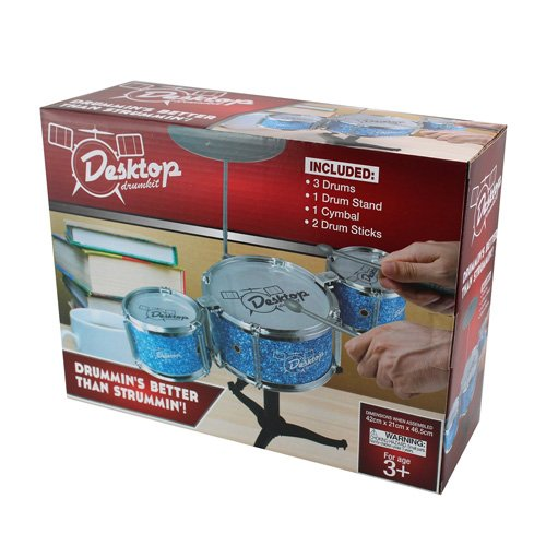 50 Fifty Concepts - Ddk001 - Accessoire Pour Maquette - Desktop Drum Kit - Bleu